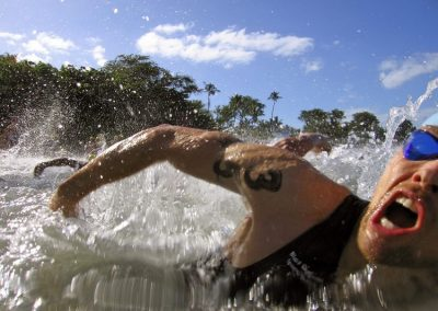 From the water at the 2007 XTERRA World Championship